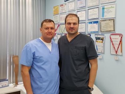 Дружеский визит в клинику «МИФЦ» ведущего Российского флеболога Соломахина Антона Евгеньевича.
