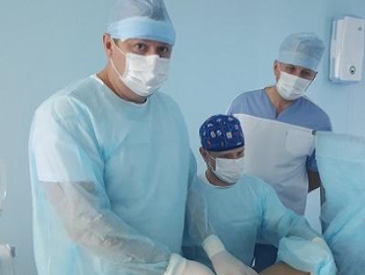 Мастер-класс по ЭВЛК для сосудистого хирурга и флеболога из города Ульяновска  Кирдяшева Александра